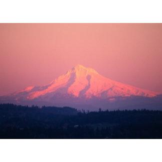 Dusky Pink Mountain