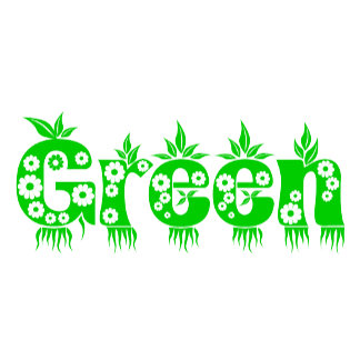 Green - Think Green - Earth Day