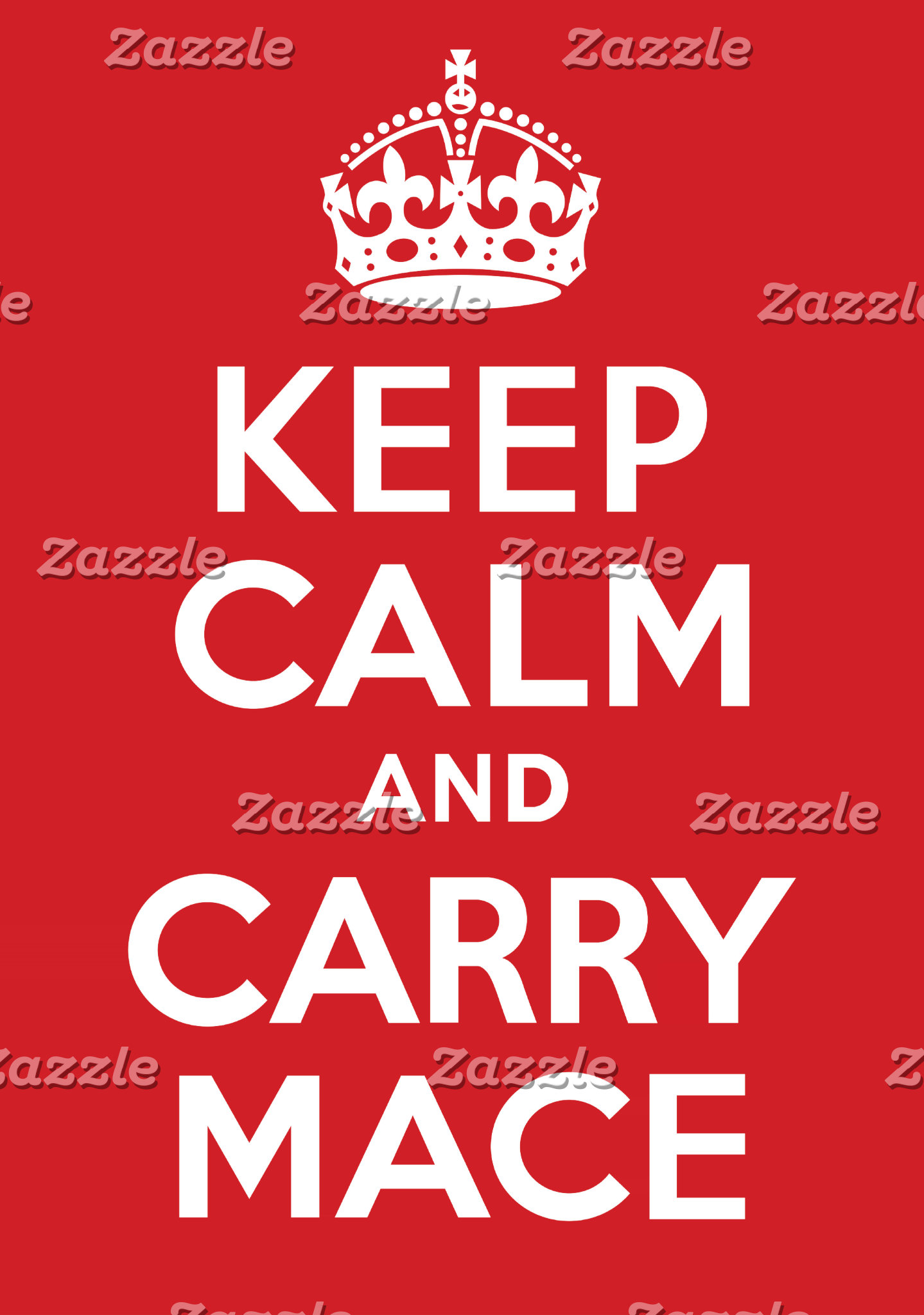 Keep Calm and Carry Mace