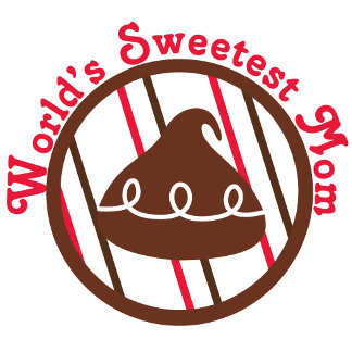 Chocolate Kiss World's Sweetest Mom