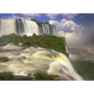 South America, Brazil, Igwacu Falls. Glorious