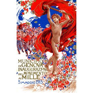 1915  Garibaldi Victory Poster