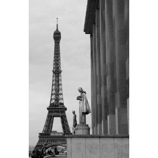 Eiffel Tower is a 19th century iron lattice