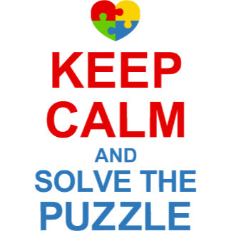 Keep Calm Solve The Puzzle