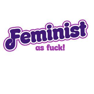 Feminist in purple