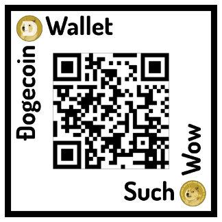 Wallet Square Custom QR
