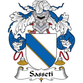 Sasseti Family Crest
