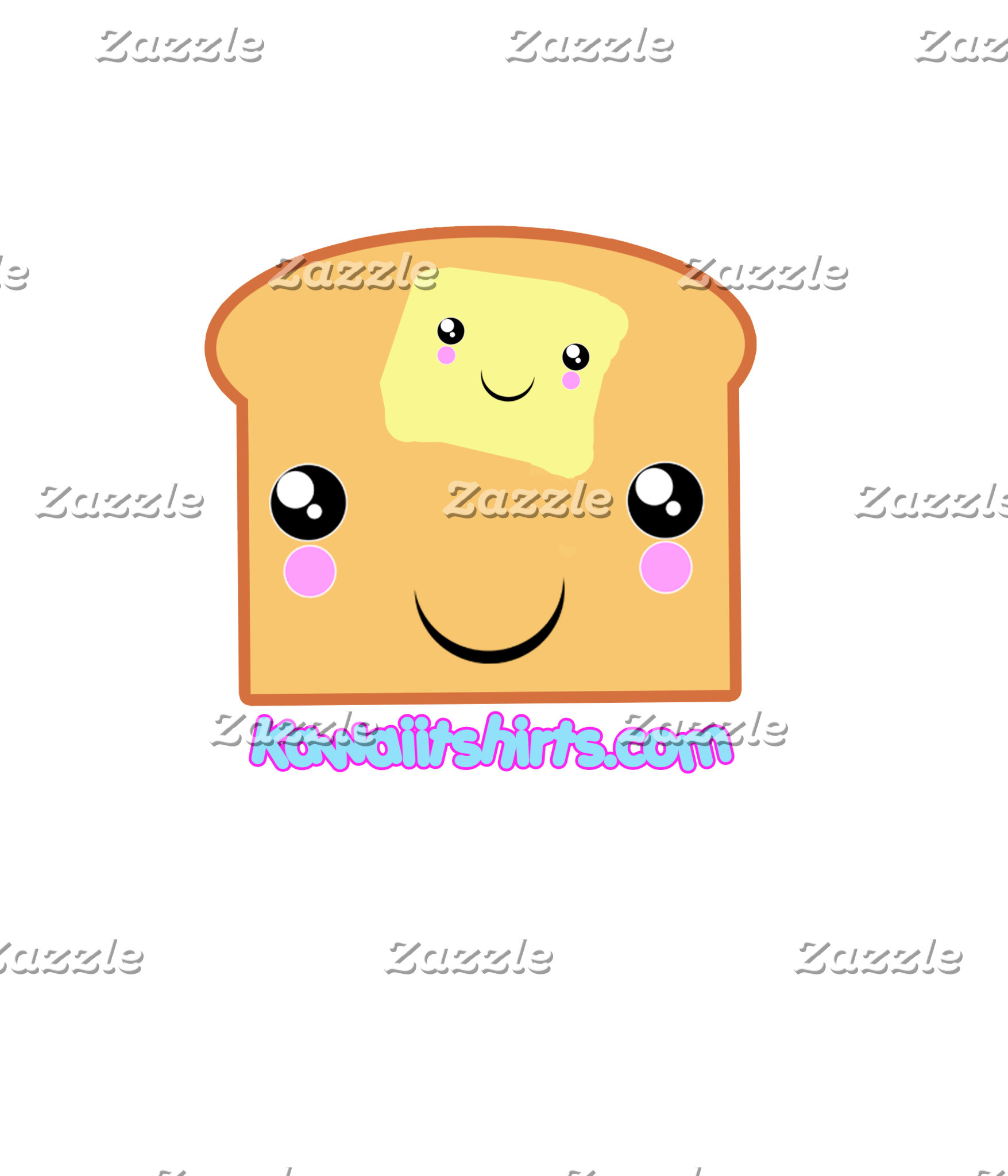 Butter & Toast cute Kawaii friends t-shirts & more