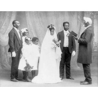 African American Wedding Photograph
