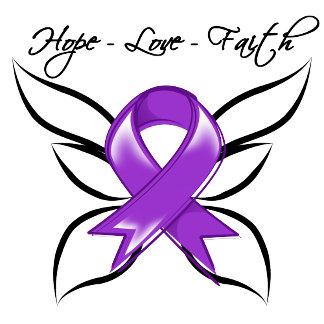 Hope Love Faith Butterfly - Epilepsy