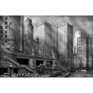 City - Chicago IL - Continuing a Legacy BW