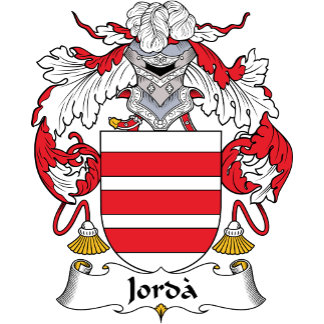 Jorda Family Crest