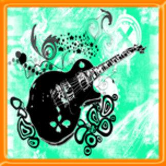 Floating Guitar Design