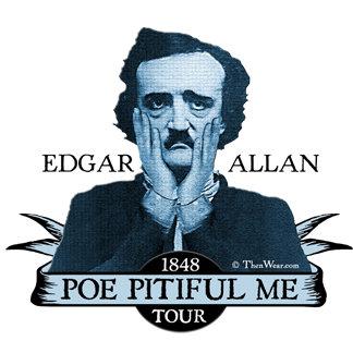 Edgar Allan Poe Pitiful Me Lecture Tour