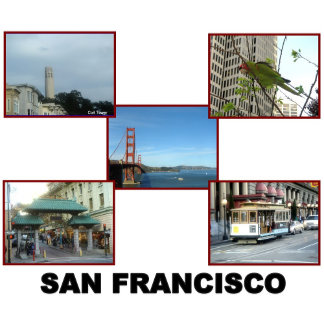 S.F.  Collages