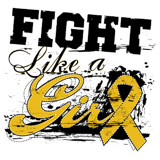 Fight Like a Girl Spray Paint - Appendix Cancer