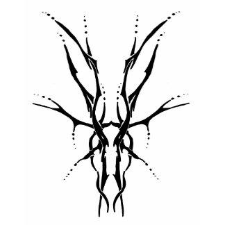 Deer Skull Tribal Tattoo
