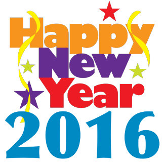 Happy New Year 2016 T-shirts and Favors