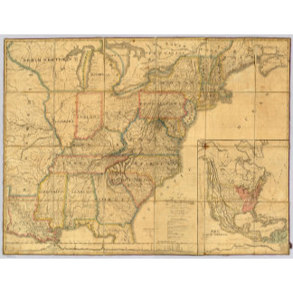 Map of the United States 4