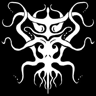 Alien Tribal Tattoo Species 273 white and black