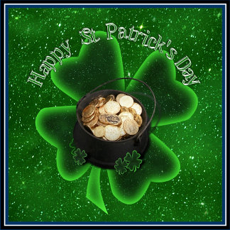 Happy St Patrick's Day (All Green)