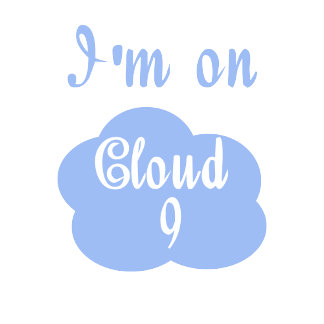Whimsical cloud 9 gifts and tees for happy people.