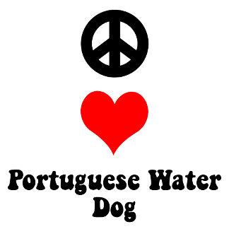 Peace Love Portuguese Water Dog