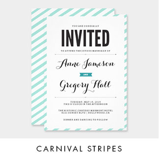 Carnival Stripes Collection