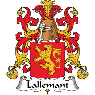 Lallemant Family Crest