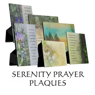 Serenity Prayer Plaques