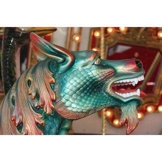 dragon head carousel fair ride