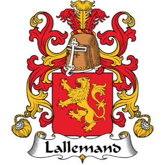 Lallemand Family Crest