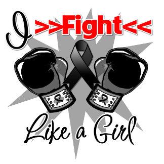 Melanoma I Fight Like a Girl With Gloves