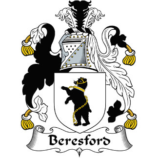 Beresford Family Crest / Coat of Arms