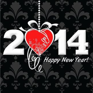 2014 Fleur de lis New Year Design
