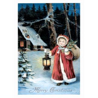 A Merry Christmas ~ Winter Scene