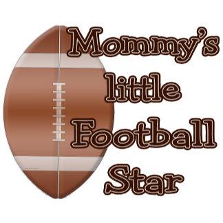 Mommys Little Football Star