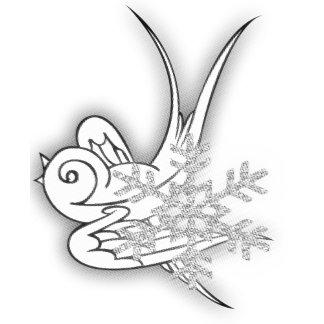 Snowflake & Birdie - Multiple Colors