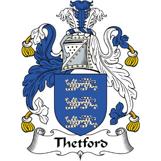 Thetford Family Crest