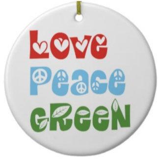 Love, Peace, Green