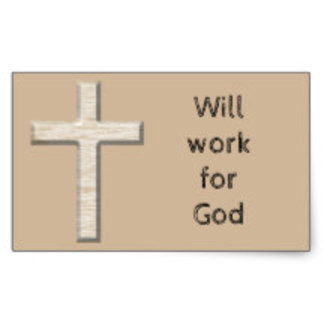 Pledge to Work for God