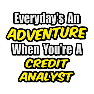 Everyday's An Adventure .. Credit Analyst