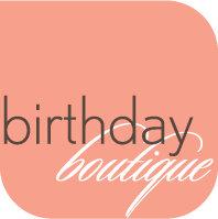 BIRTHDAY BOUTIQUE