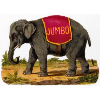 """Jumbo the Elephant Poster Print"""