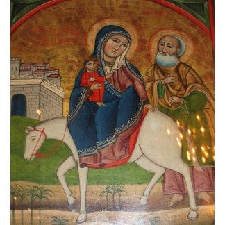 Flight of the Holy Family in Egypt
