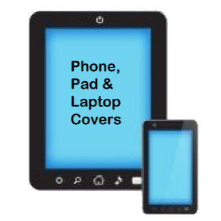 Phone, Pad & Laptop Covers