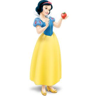 Snow White Holding Apple
