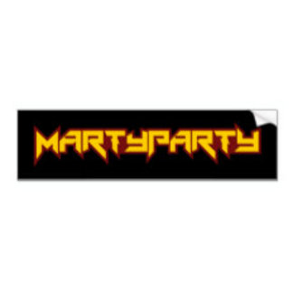MARTyPARTy Stickers