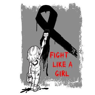 Graffiti FIGHT Like a Girl Melanoma