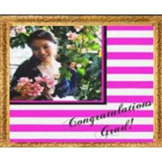Congratulations Grad Stripe Photo Collection
